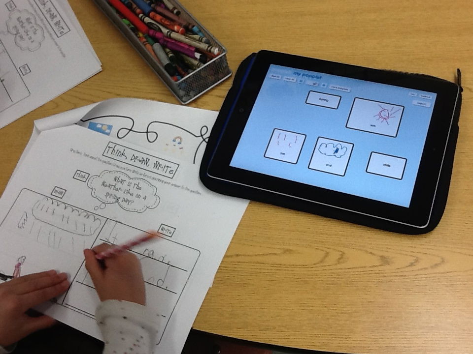 Popplet Writing 1a