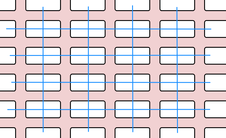 Grid Layout Lines